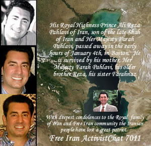 Prince Ali Reza Pahlavi of Iran passed away